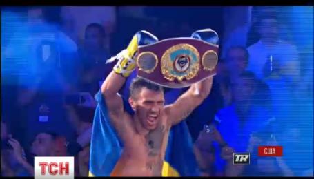 Василий Ломаченко стал мировым чемпионом сразу в двух весовых категориях