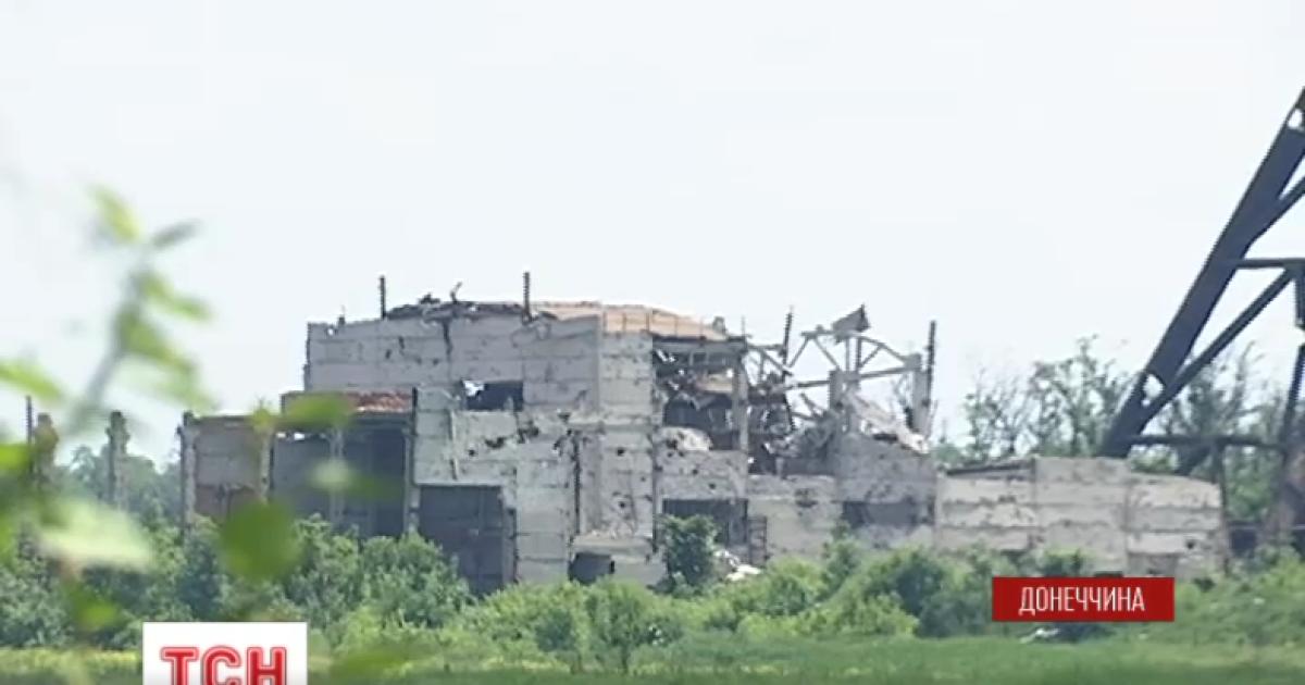 Нові втрати на Донбасі. Бетон на шахті Бутівка вже не витримує обстрілів бойовиків