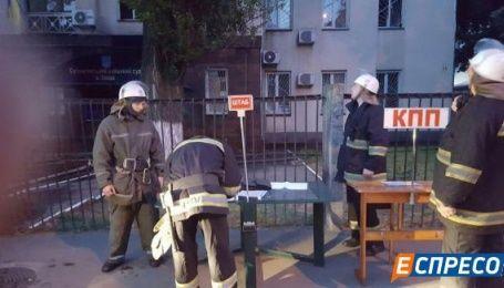 В сгоревшем киевском суде были материалы против Ефремова и Ставицкого