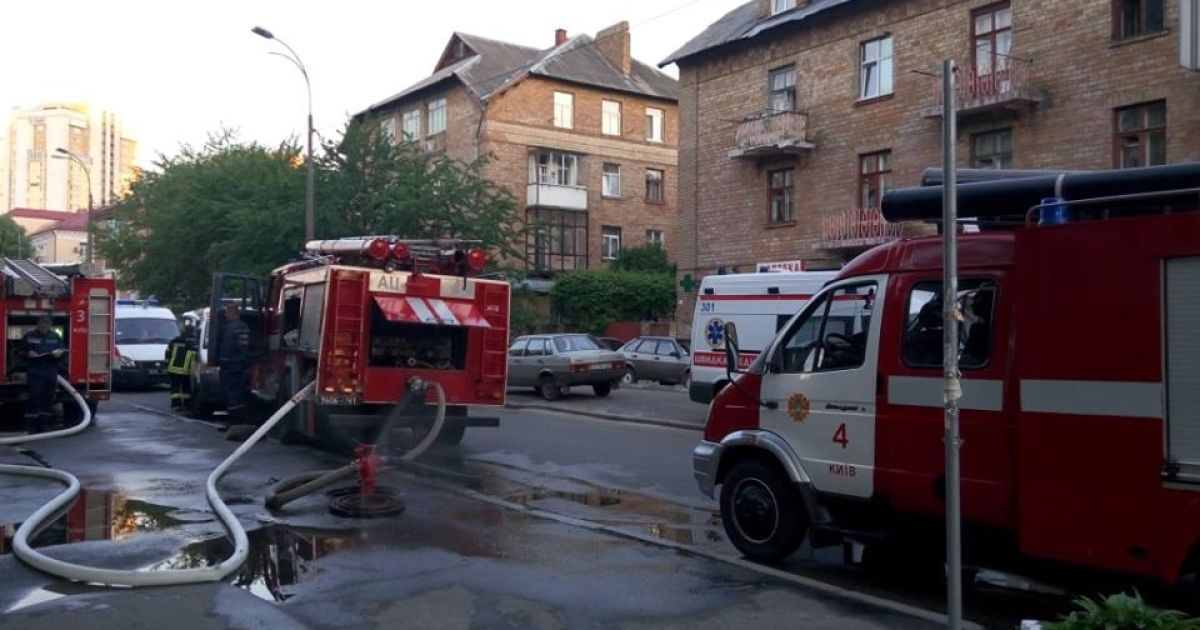 Во время пожара в Соломенском суде выгорела канцелярия, где хранились материалы уголовных дел
