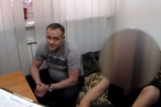 У Мережі з'явилося відео затримання екс-менеджера Курченка