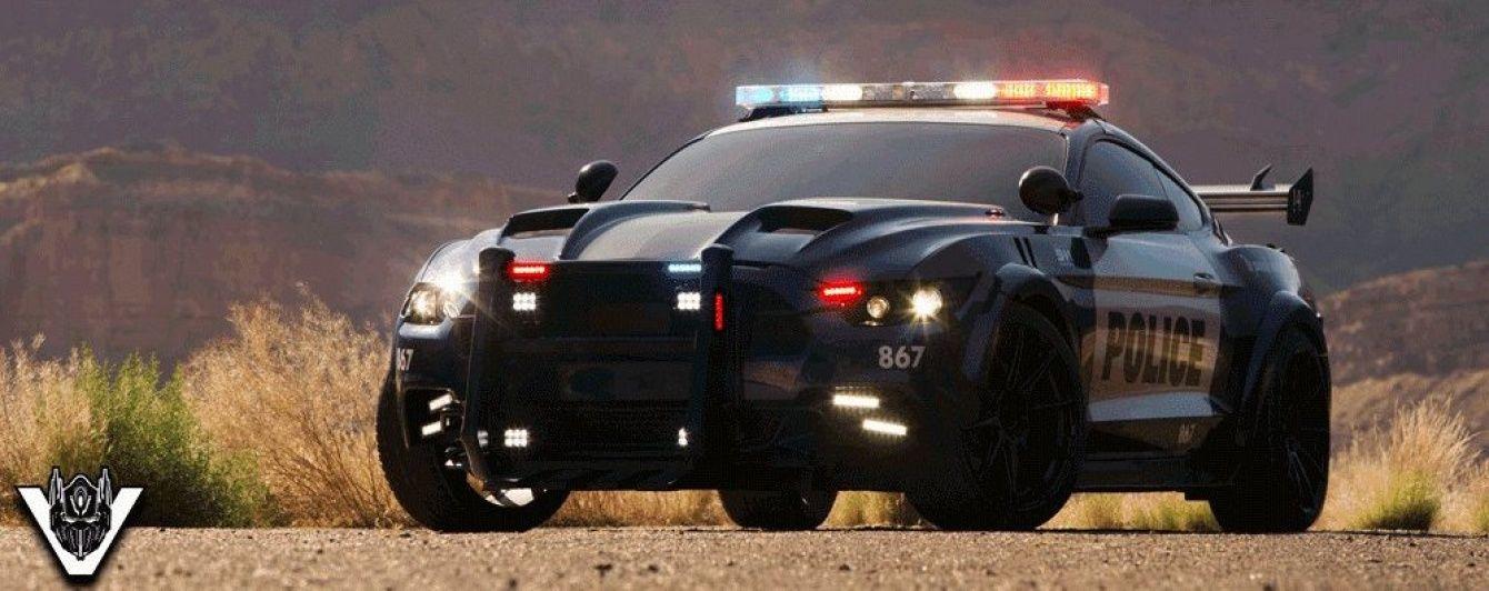 """В Сети появилось фото Ford Mustang для новых """"Трансформеров"""""""