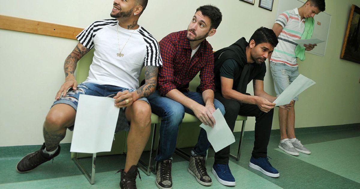 """Гравці """"Шахтаря"""" перевірили здоров'я перед стартом нового сезону @ ФК Шахтар"""
