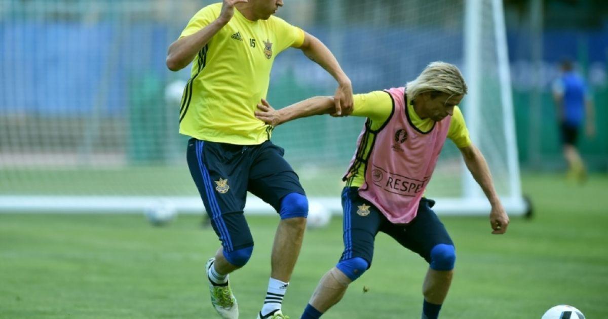 Гравці збірної України провели відкрите тренування для масмедіа @ ФФУ