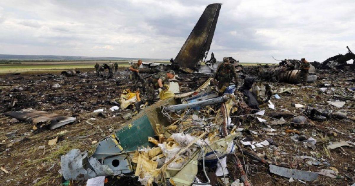"""Наемники """"Вагнера"""" принимали участие в катастрофе ИЛ-76, на борту которого погибли почти полсотни военных ВСУ"""