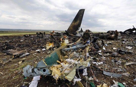 Катастрофа Іл-76 біля Луганська: СБУ звинувачує Кремль