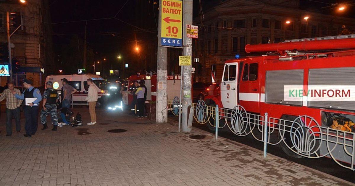 В Киеве в многоэтажке прогремел взрыв при попытке ограбления обменника