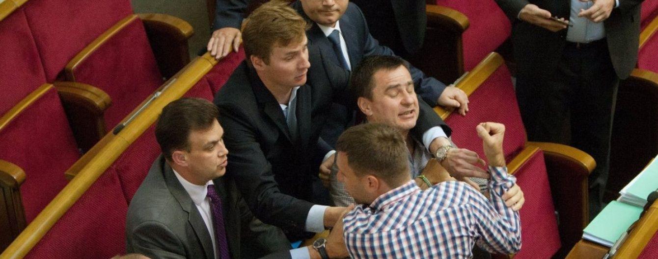 Україна посіла перше місце в рейтингу бійок у парламенті - Парубій