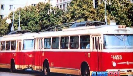 Троллейбусы празднуют юбилей