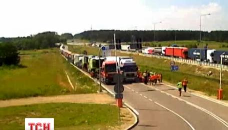 Польские таможенники объявили забастовку
