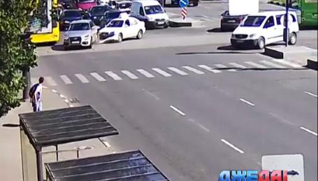 Резонансные аварии на дорогах Украины