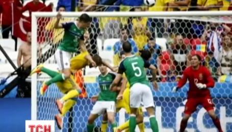 Украинская сборная сыграла решающий матч против сборной Северной Ирландии