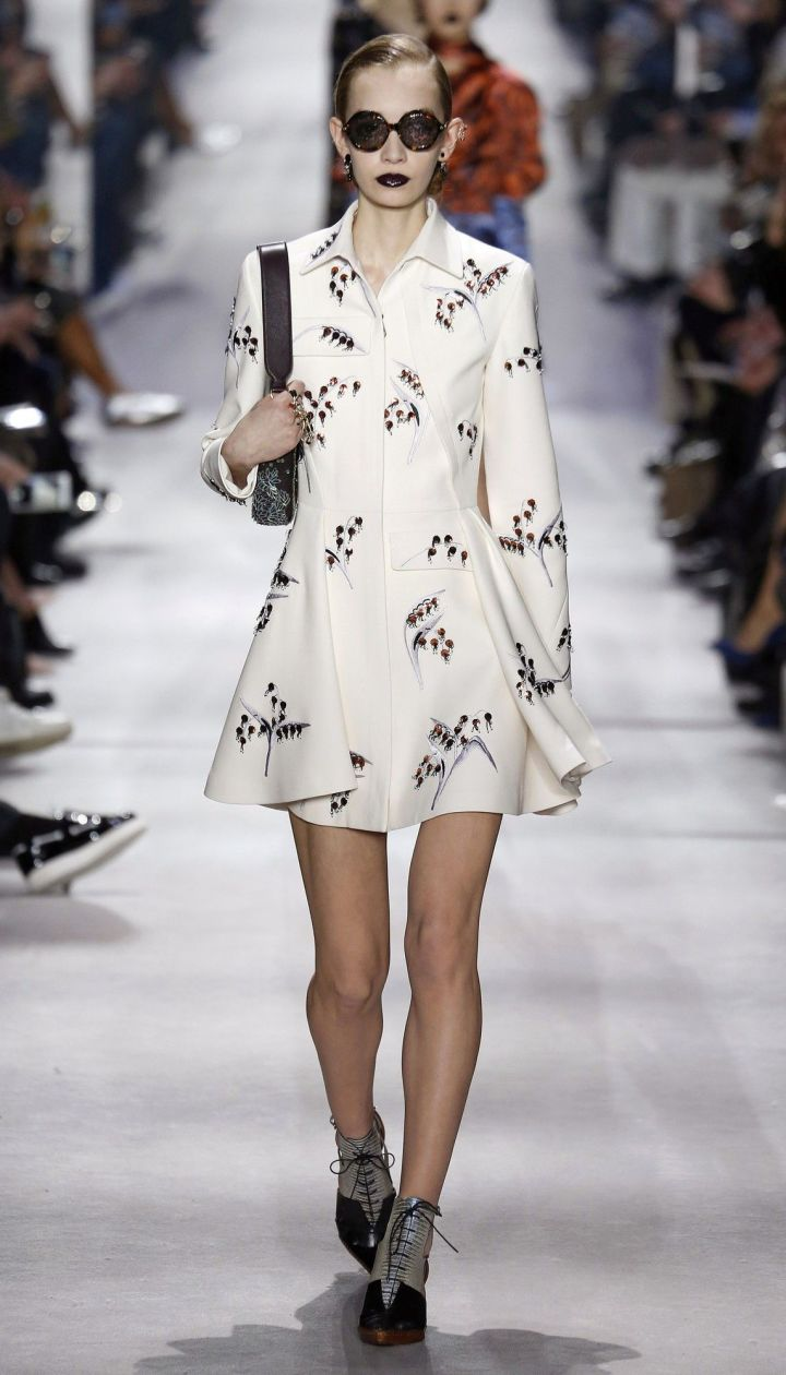 Коллекция Christian Dior прет-а-порте сезона осень-зима 2016-2017 @ East News