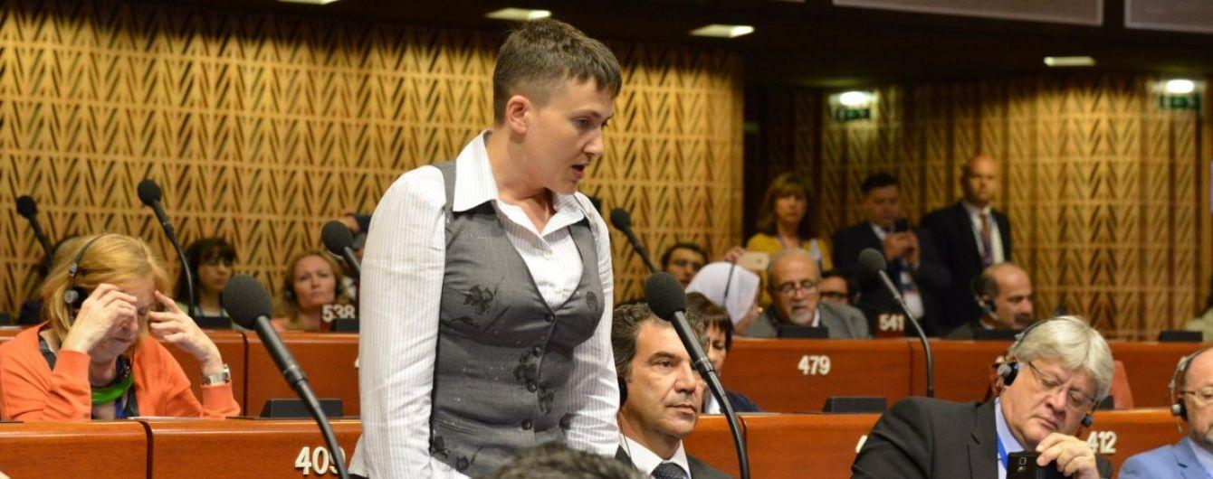 Савченко розповіла, як російський журналіст чатував на неї у жіночому туалеті
