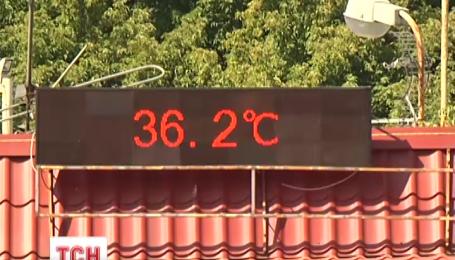 На Украину надвигается жара