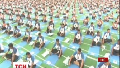 В Индии отметили Международный день йоги