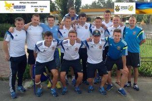 Збірна України вирушила на Кубок Європи з пляжного футболу