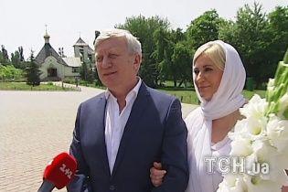 Горянський та його дружина-рестораторка повінчалися в оточенні найближчих людей