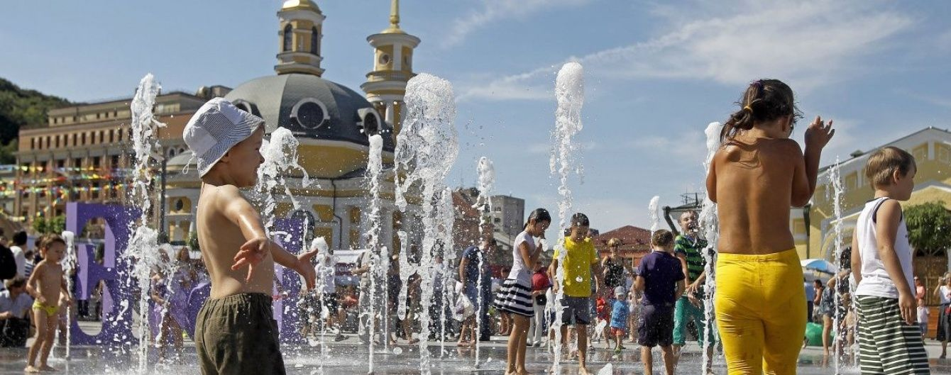 Спекотна середа. В Україні 22 червня стовпчики термометрів показуватимуть до 37 градусів