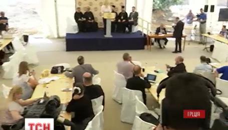 На Крите закончился второй сессионный день Всеправославного Собора