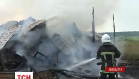 На Львівщині блискавкою вбило 27-річного чоловіка