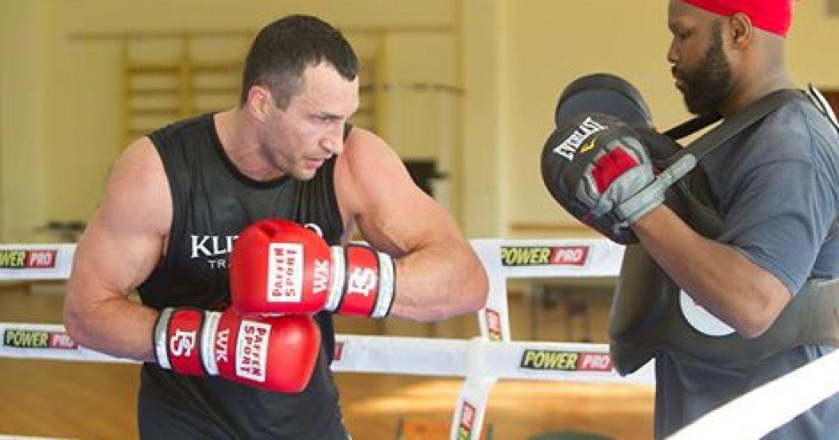 Володимир Кличко на фінішній прямій у підготовці до реваншу із Тайсоном Ф'юрі.