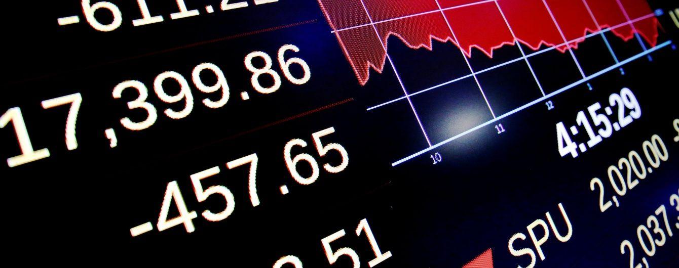 Российские биржи падают на фоне агрессии РФ в Керченском проливе