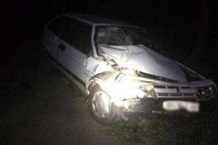 На Львівщині у серії ДТП постраждали п'ятеро цивільних та четверо поліцейських