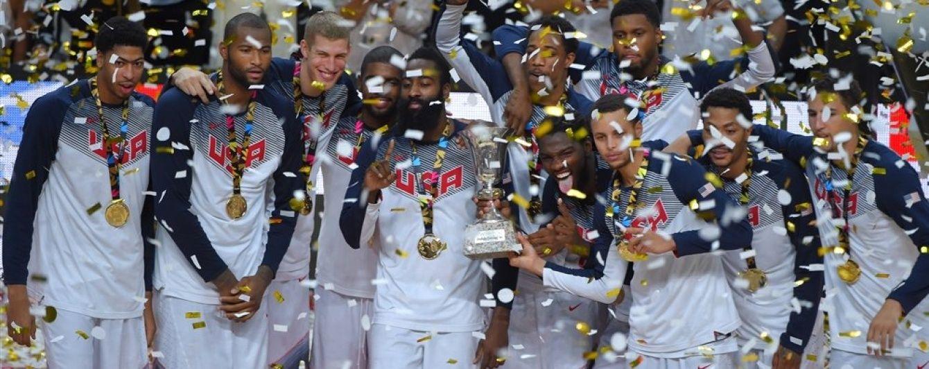 Баскетбольна збірна США назвала склад на Олімпіаду-2016