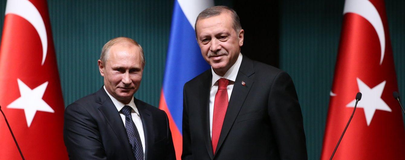 У Москві готується зустріч Путіна та Ердогана - ЗМІ