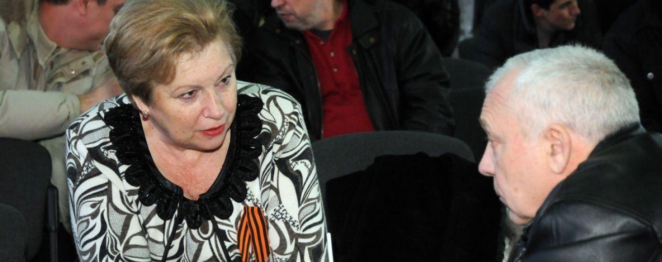 Екс-комуністка Александровська із СІЗО потрапила до лікарні