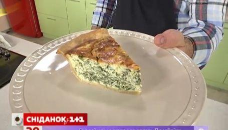 Рецепт тартару зі шпинату від Руслана Сенічкіна