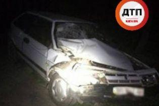Подвійна аварія на Львівщині: в авто поліції на місці ДТП врізалась іномарка, постраждали 9 людей