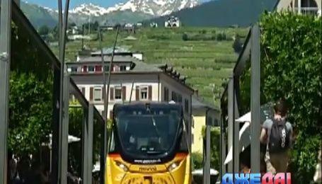 Первый беспилотный электробус проехался по швейцарским улицам