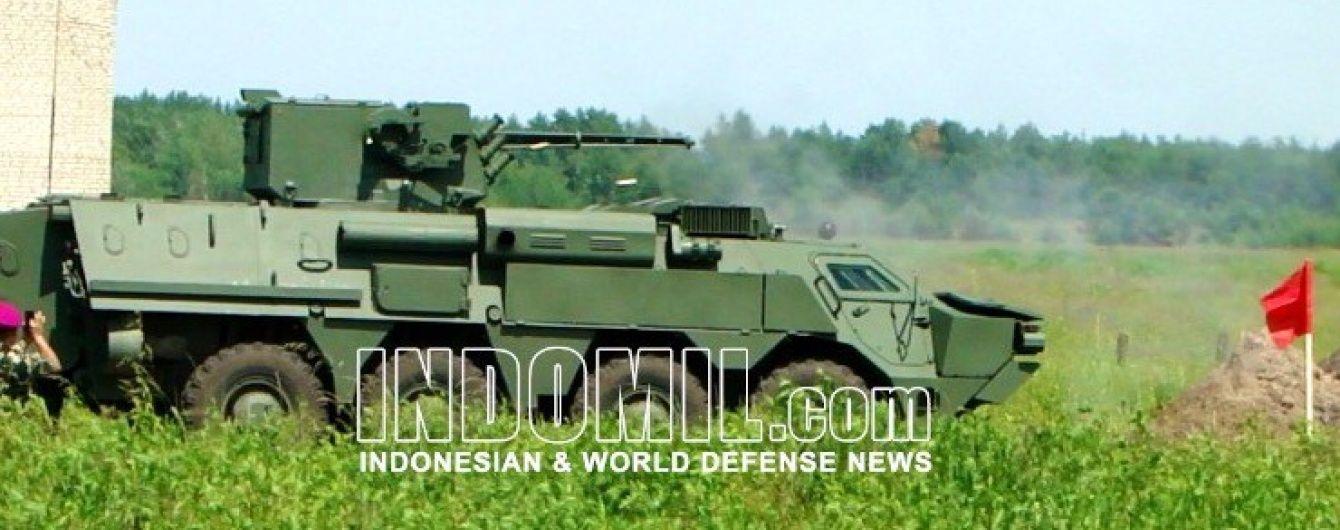 Представники ВМС Індонезії провели вогневі випробування нового українського БТР