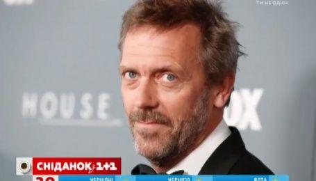 На Голливудской Аллее Славы появится звезда с именем британского актера Хью Лори