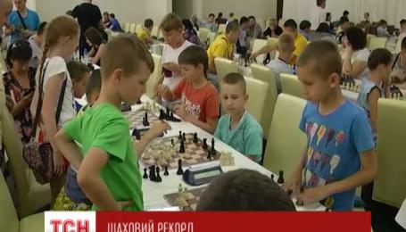 На Закарпатье установили шахматный рекорд