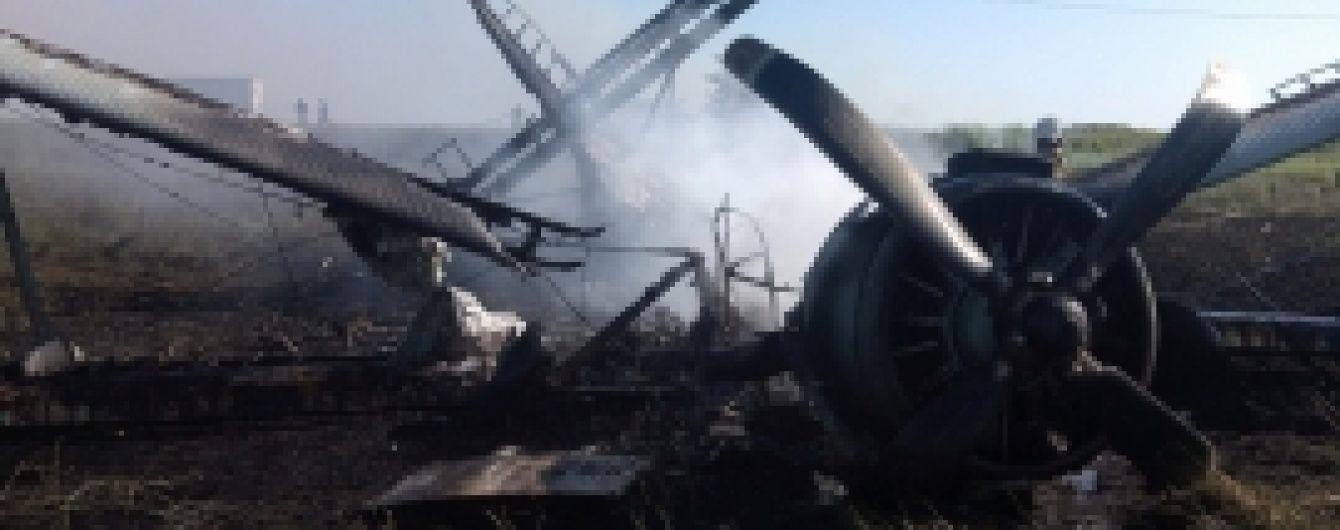 У Росії впав легкомоторний літак, є загиблі