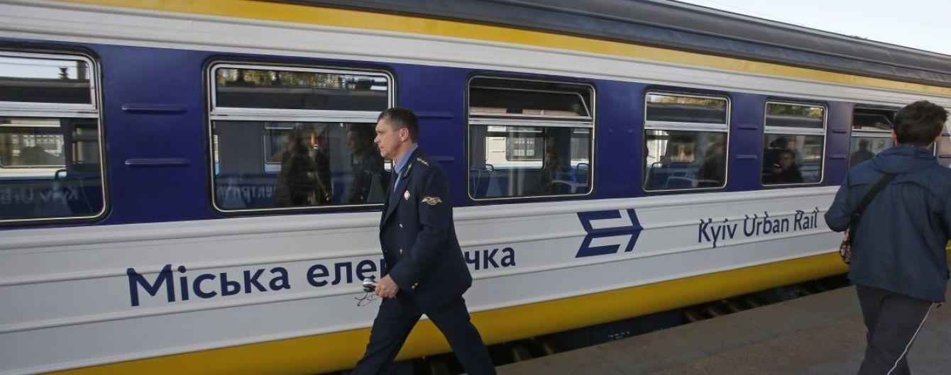 Сегодня в Киеве возобновила работу городская электричка