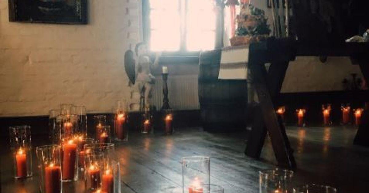 Появились первые фото со свадьбы Никитина и Горбачевой @ instagram.com/edgar_kaminskyi