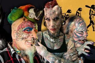 Людина-кішка, зомбі-бой та жінка-вампір. Індивіди, які пішли проти еволюції