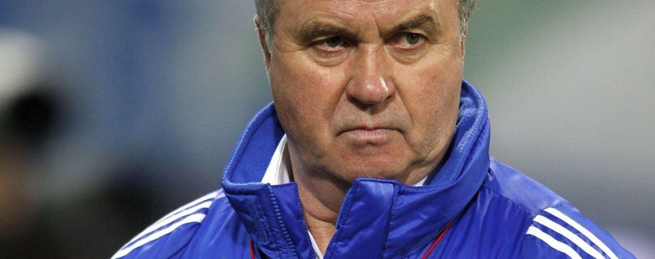 Хіддінк відмовився повернутися у збірну Росії