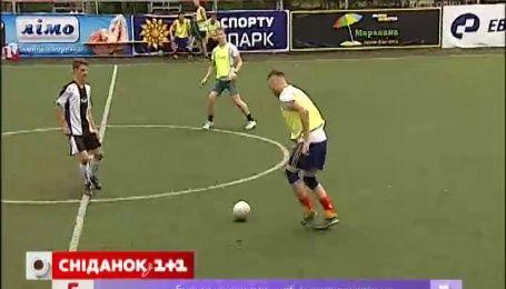 Пять театральных коллективов Киева поборолись за звание лучшей футбольной команды