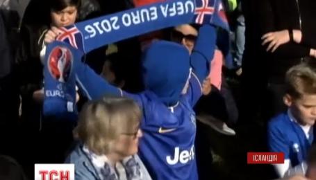 Тысячи исландцев выстроились, чтобы поблагодарить национальную сборную по футболу