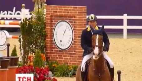 Онищенко находится в Австрии, где принимает участие в соревнованиях по конному спорту