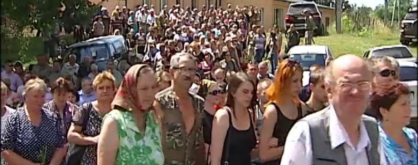 На Київщині поховали бійця АТО, який загинув на останньому бойовому завданні перед дембелем