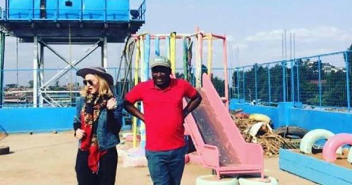 Мадонна приїхала до Кенії @ instagram.com/madonna