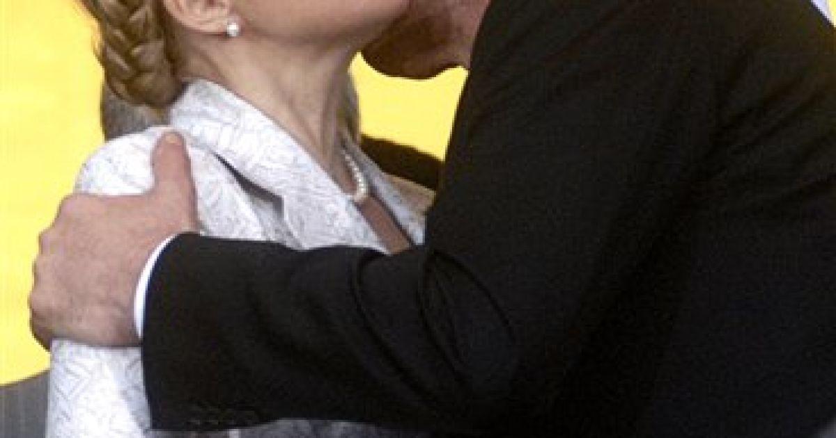 Юлія Тимошенко і Віктор Ющенко