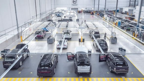 Jaguar Land Rover Special Vehicle Operations