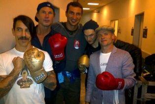Red Hot Chili Peppers виконали музичне прохання Володимира Кличка у Києві